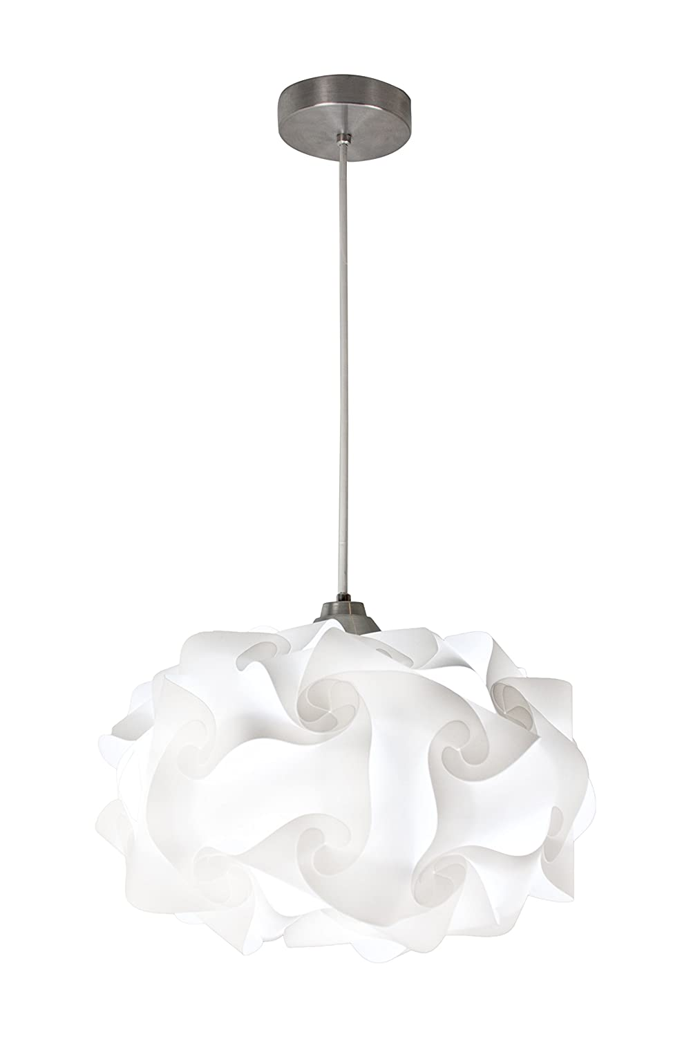 EQLight PP4M01 Cloud Light Contemporary Pendant White Medium