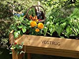 Small VegTrug Elevated Garden with Wooden Frame