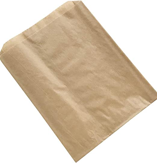 """Buy 25 Get 25 FREE 10""""x9"""" Greaseproof Bags Ideal For Takeaway,Sandwiches Bags"""