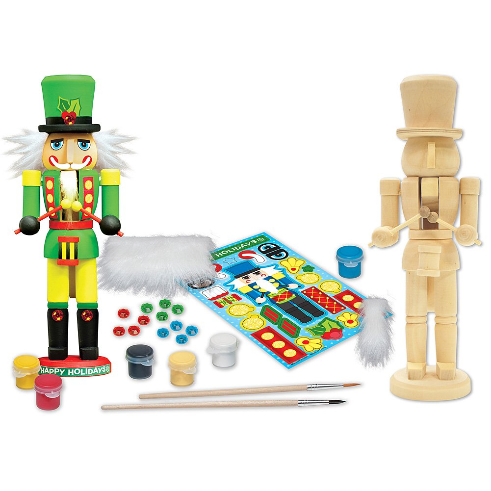 Paint Your Own Nutcracker Drummer by MasterPieces MASTERPIECES PUZZLE CO