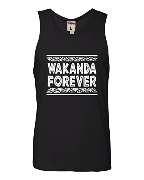642013975 Amazon.com: Adult Wakanda Forever Sleeveless Tank Top Cotton T-Shirt ...