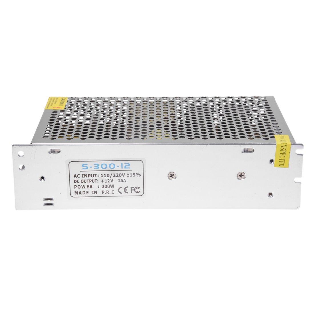 Moligh doll Transformador electronico Transformador LED 300W 25A 220V AC Para 12V DC