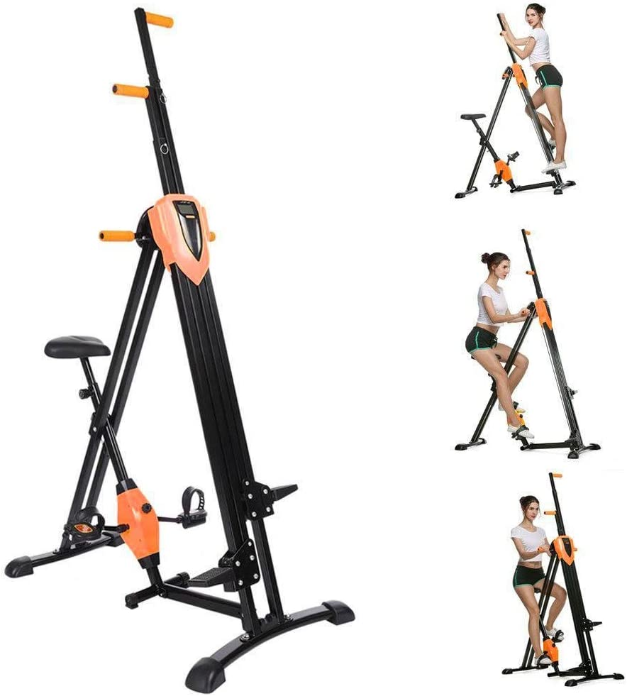 2 en 1 plegable vertical alpinista, Fitness paso máquinas ...