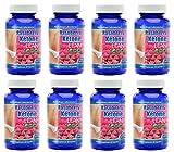MaritzMayer Raspberry Ketone Lean Advanced Weight Loss Supplement 60 Capsules Per Bottle 8 Bottles
