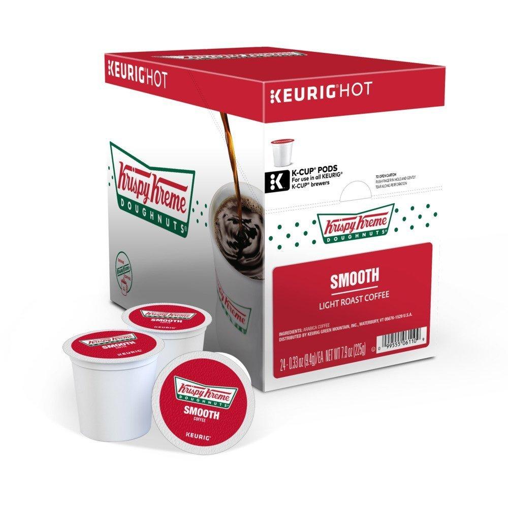 Krispy Kreme Donuts Smooth Coffee - 96 K Cup Packs by Krispy Kreme