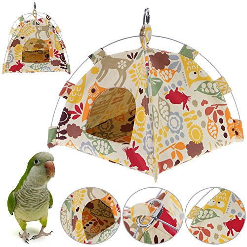 Gowind7 Parrot Hanging Tent,Bird House Bed, Cave Cartoon for sale  Delivered anywhere in Canada