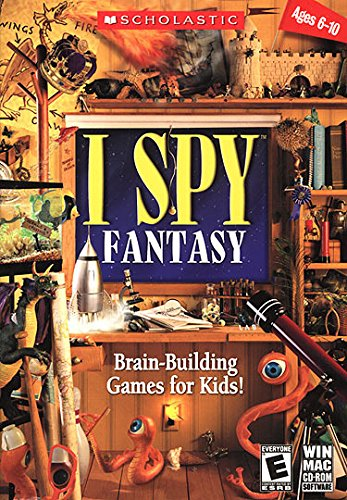 I Spy - Fantasy Brain-Building Games for Kids! Age Rating:6 - 10