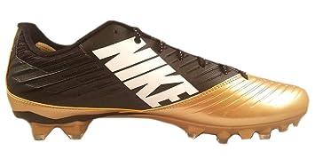 low priced 879c3 af732 Nike Vapor Speed Low TD Football Crampons Neuf Doré Noir 668831–020