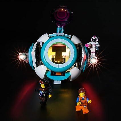 Amazon Com Lightailing Light Set For Lego Movie 2 Sweet Mayhem S Systar Starship Building Blocks Model Led Light Kit Compatible With Lego 70830 Not Included The Model Toys Games