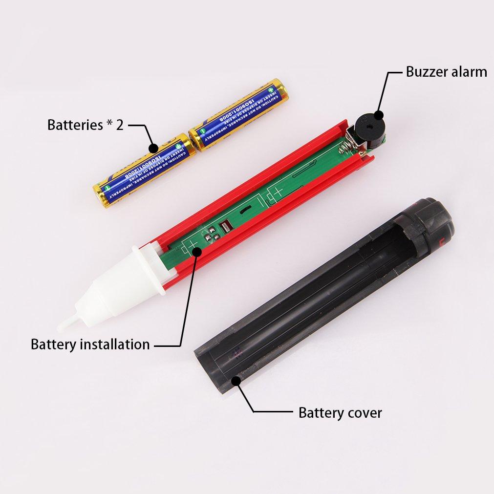 Signstek Maintenance and Test Electrical Test Kit, Including Palm Size Multimeter, Receptacle Tester and AC Voltage Detector by Signstek (Image #3)