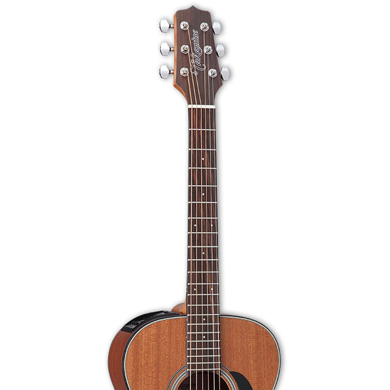 Takamine GX11ME Mahogany 3/4 Size Taka-mini Acoustic-Electric Guitar with Gig Bag by Takamine