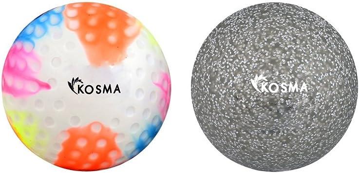 Kosma KG-26006 Bola de Hockey, Multi, Plata, Talla única: Amazon ...