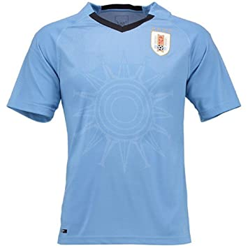 Amazon.com: Sykdybz 2018 Uniforme de fútbol uruguayo Fans ...