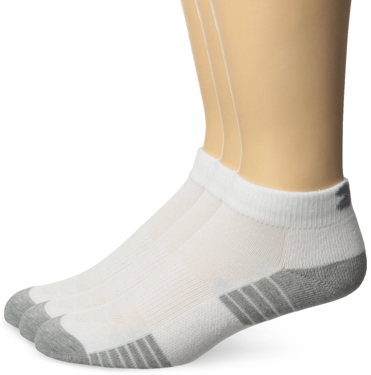 Under Armour Men's HeatGear Tech Lo Cut Socks (3 Pack) Under Armour Socks U326M-P