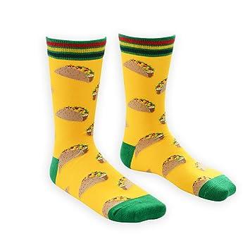 Fascigirl Calcetines de La Novedad Calcetines Divertidos para Hombres AlgodóN Casual Colorido de Moda Guay Calcetines