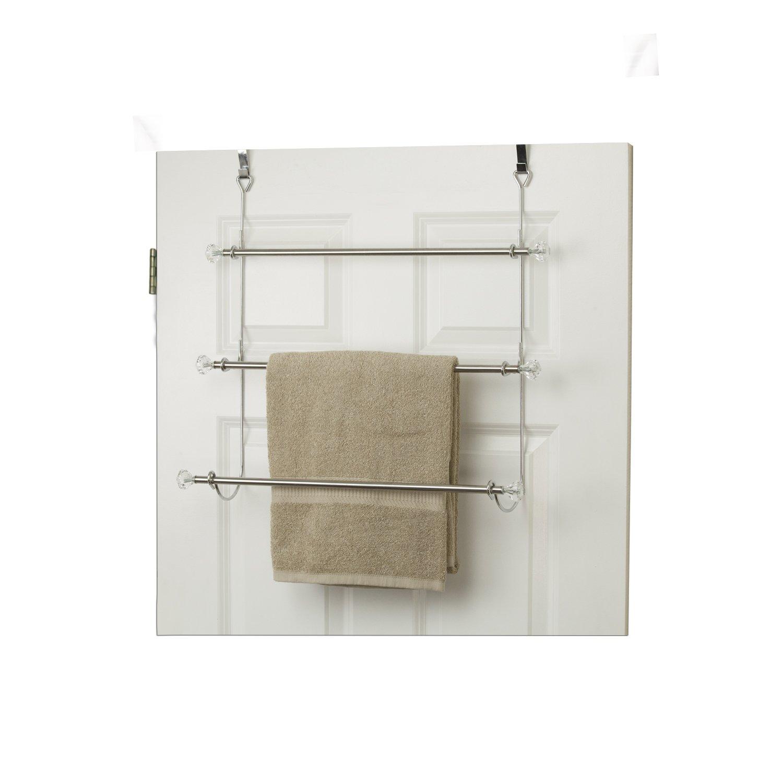 Home Basics Over The Door 3-Tier Towel Rack