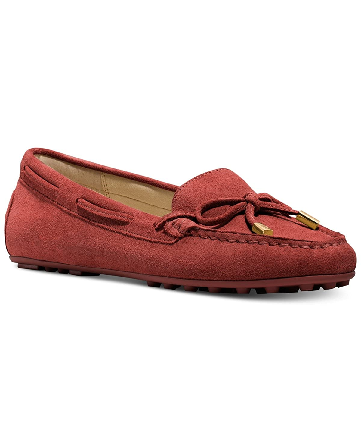 e4eb1c94b04f3 Amazon.com: MICHAEL Michael Kors Daisy Moc Flats, Size 7.5, Brick: Shoes