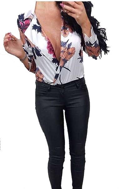 Instagram Clothing - Body - para Mujer Blanco Blanco Medium/Large: Amazon.es: Ropa y accesorios