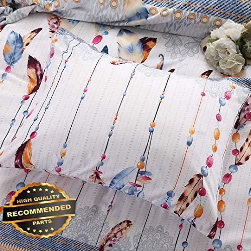 (Werrox 3PCS Classic Designs Duvet Quilt Cover + Pillow Case Bedding Set Twin Queen King Full/Queen Size | Quilt Style QLTR-291266787)