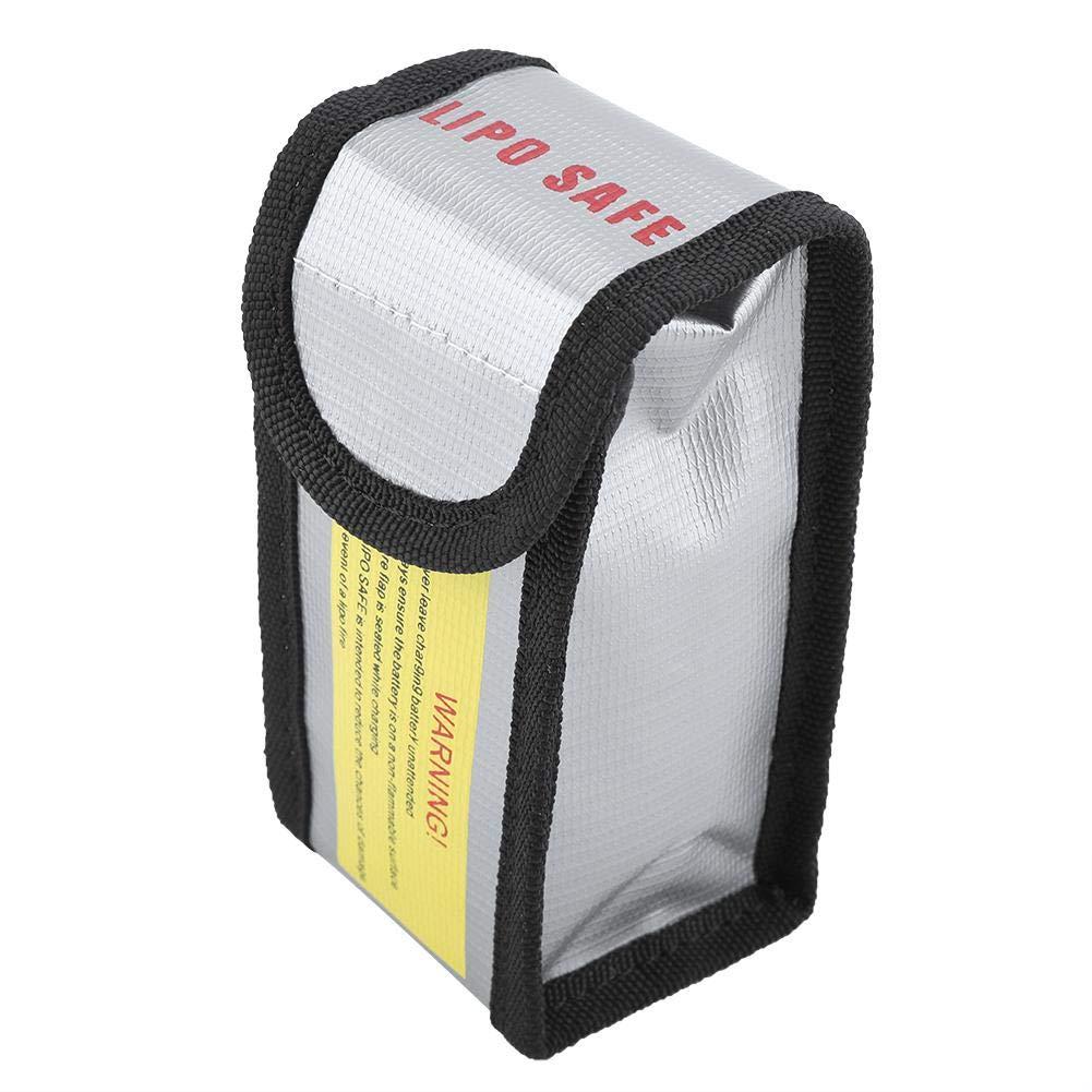 Bolsa Protectora para Carga y Almacenamiento Bolsa de Seguridad para bater/ía Resistente a Altas temperaturas Smandy Bolsa de bater/ía ign/ífuga port/átil a Prueba de explosi/ón
