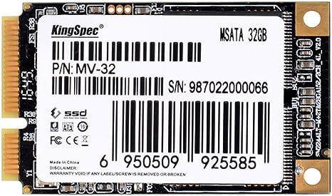 Disco duro interno de estado sólido de 32 GB PCI-E mSATA 6 GB/s ...
