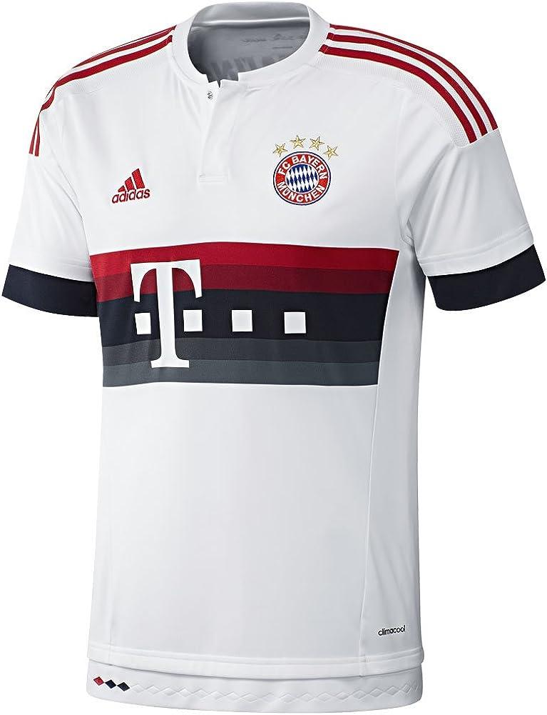 adidas FC Bayern Munich Youth Away Jersey (White)