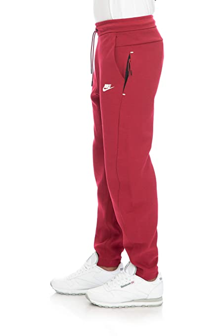 Nike pantaloni uomo rossi