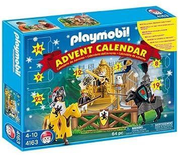 Calendrier De L Avent Playmobil Pas Cher.Playmobil 4163 Calendrier De L Avent Les Chevaliers