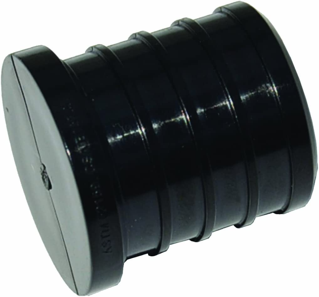 SharkBite UP518A 3/4-Inch Plastic Barb Plug Retail Packaging