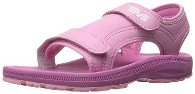 7e730547d Teva Girls  Psyclone 4 Sandal Pink 4 M US Toddler