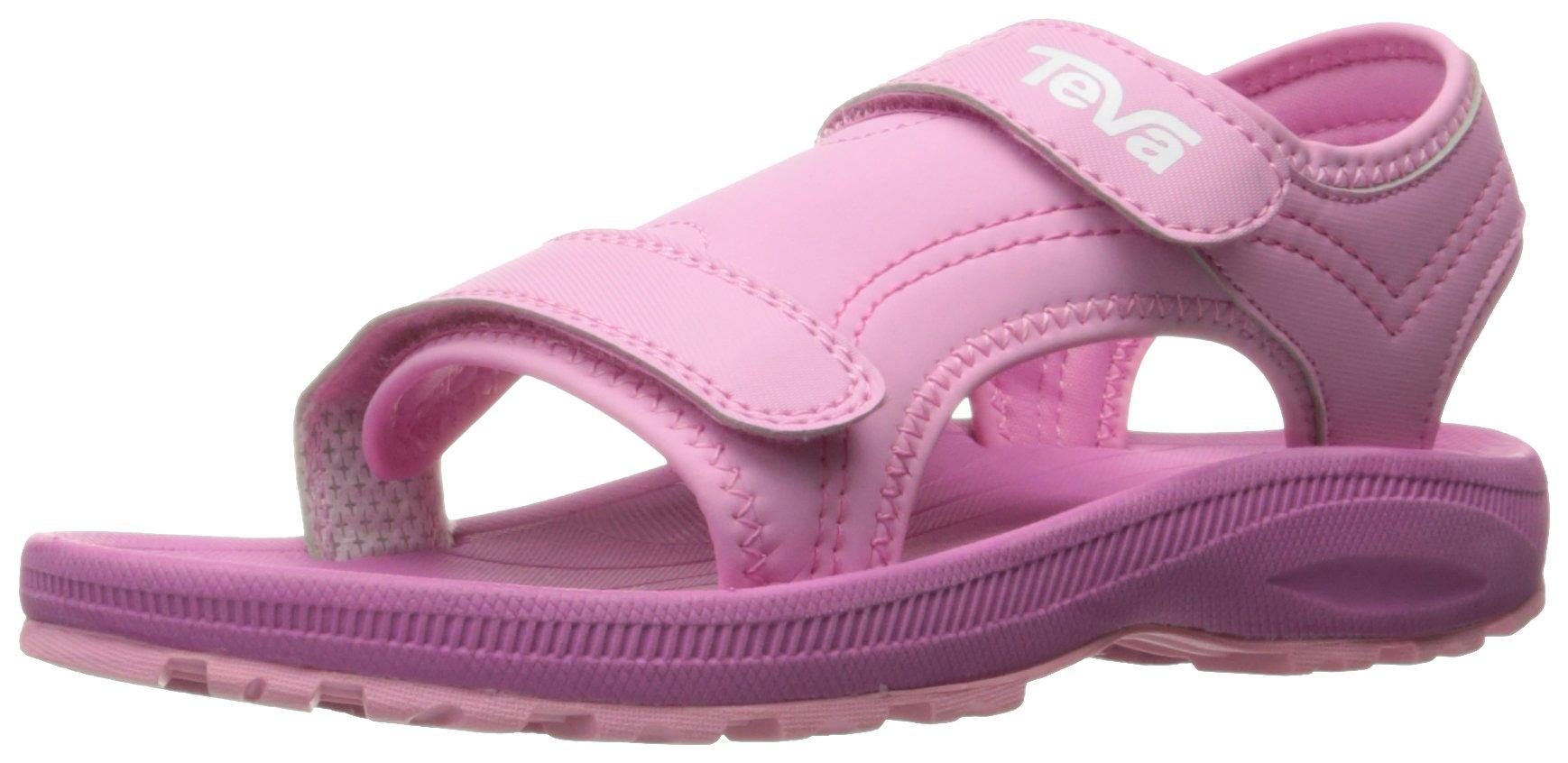 Teva Girls' Psyclone 4 Sandal, Pink, 1 M US Little Kid by Teva (Image #1)