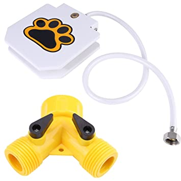 Dispensador de Agua Perro Fresco Dispensador de Agua Potable Para Mascotas Herramienta de Entrenamiento Para Animales de Agua: Amazon.es: Hogar