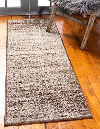 Unique Loom Autumn Collection Rustic Casual Warm Toned Beige Runner Rug 2 0 x 6 0