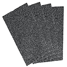 Active Carbon Pre-Filter Replacement GermGuardian FLT4100 HEPA Filter E for Model AC4100 Air Purifier, 4 Sheet