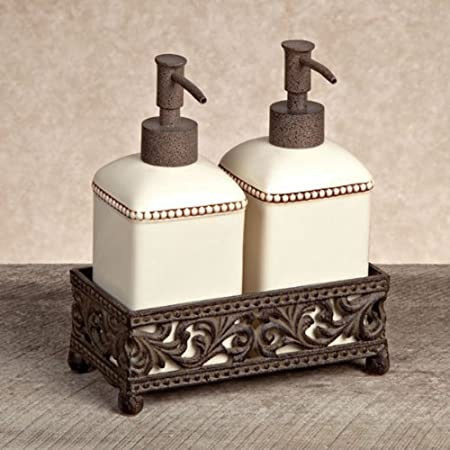 Best 50 Soap And Lotion Dispenser Set With Caddy Home