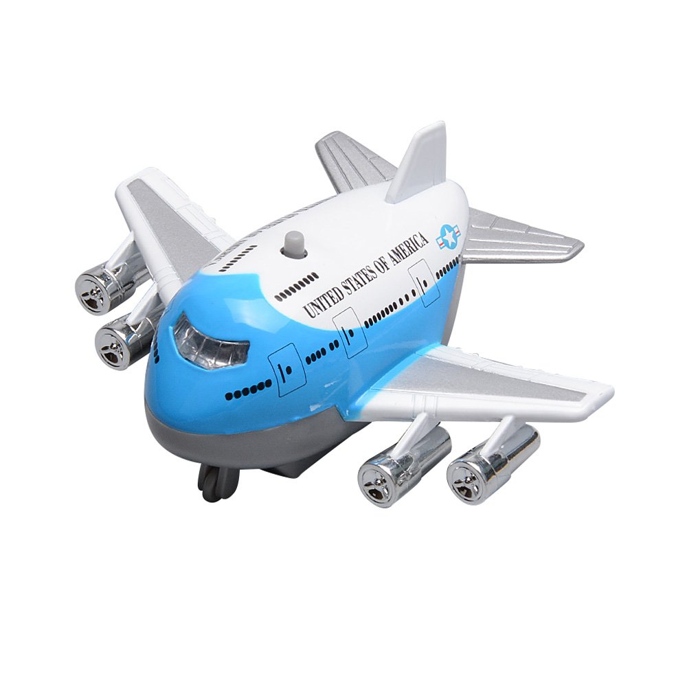 baidercor Kids Toy Plane Airlinerモデルブルー   B076ZG62MM