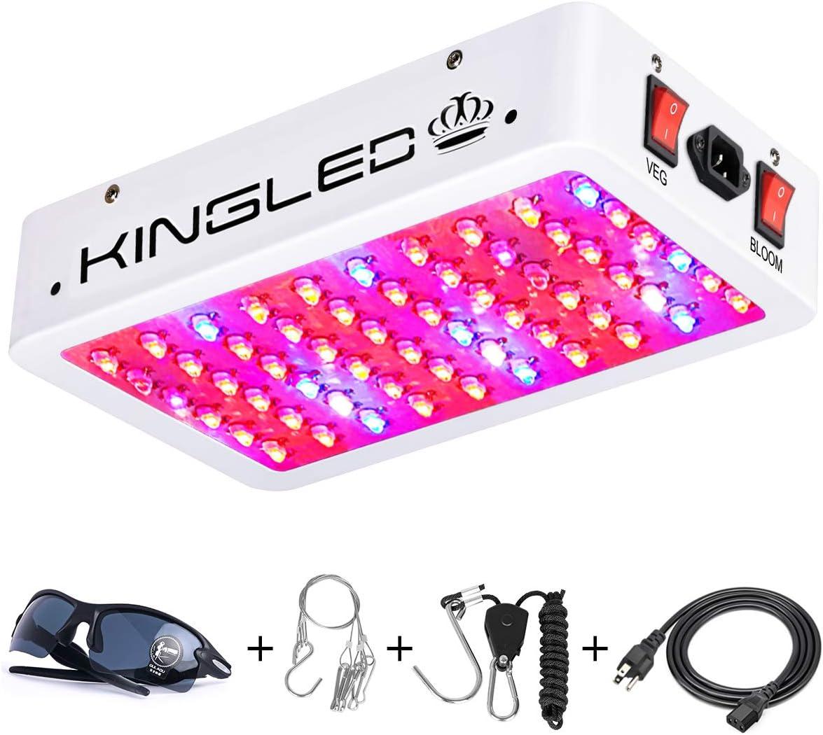 King Plus 600 Watt Full Spectrum LED Grow Light