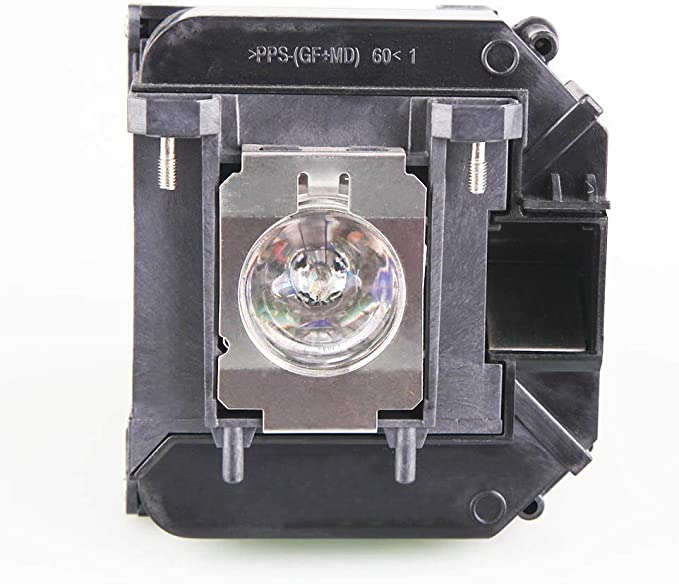 V13h010l60 Replacement Lamp Bulb with Housing for Epson PowerLite 420 425W 905 92 93 95 96W 1835 430 435W 915W Projectors Lanwande Elp60