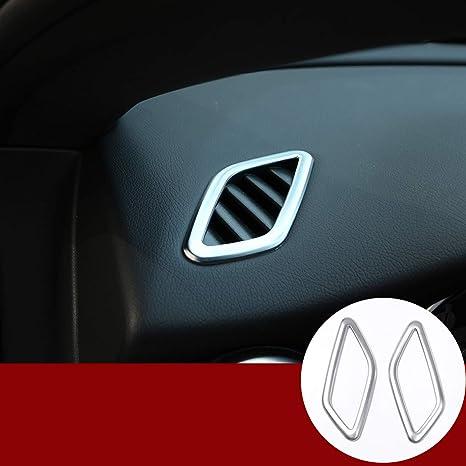 Yiwang Abs Chrom Armaturenbrett Klimaanlage Entlüftung Innenraum Zubehör Für Benz Cla Gla A Klasse W117 C117 W176 A180 X156 Auto