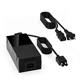 Xbox One Power Brick Supply, Replacement Power Cord Accessory 100-240V AC Adapter Power Box Xbox One Charger
