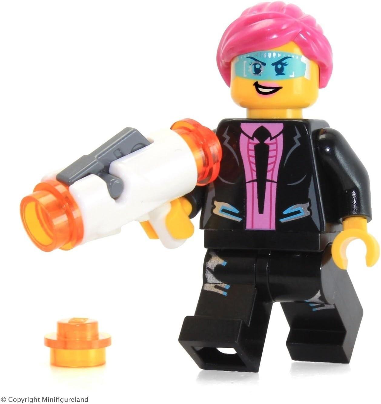 Agent Solomon Blaze LEGO Ultra Agents MiniFigure