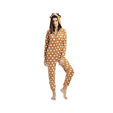b49f92dc6 Amazon.com  Body Candy Junior s Microfleece Onesie with Critter Hood ...