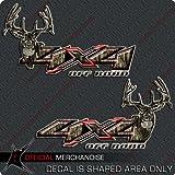 camouflage truck decals - 4x4 Deer Hunting Camo Decal Silverado Archery Truck Sticker