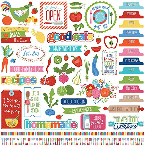 (Photoplay Paper WC9141 What's What's Cooking Stickers)