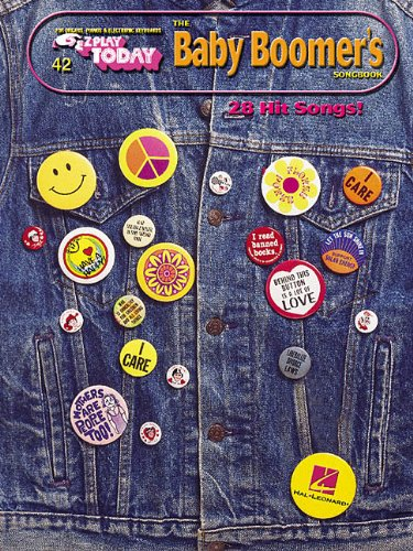 EZPLY 42 BABY BOOMERS        SONGBOOK 28 HIT SONGS (E-Z Play Today) (Night And Day Sheet Music)