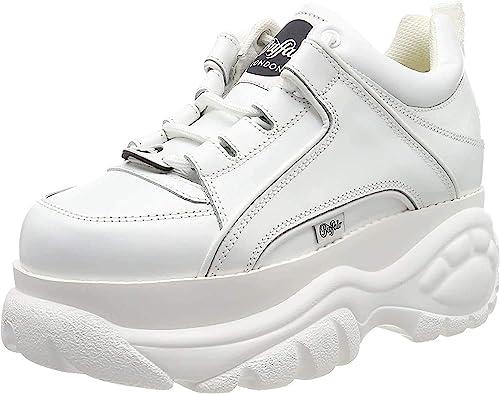 Buffalo Damen Sneaker Größe 40 Eu Weiß Weiss Amazon De Schuhe Handtaschen