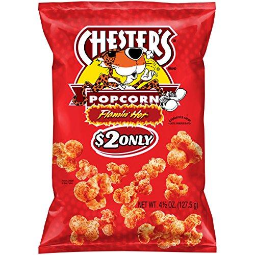 Chester's Popcorn Flamin' Hot Corn Snacks 4.25 oz
