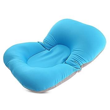 Baby Bath Mat Anti-skid Pillow Pad Folding Lounger Air Cushion Newborn Seat Pad