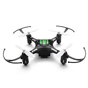 EACHINE H8 Mini Quadcopter Drone Headless Mode 2.4G 4CH 6 Axis Droni Radiocomandati Quadricottero RTF Modalità 2 (Nero)