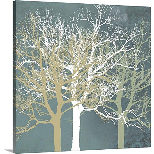 Tranquil Trees (Erin Clark Premium Thick-Wrap Canvas Wall Art Print entitled Tranquil Trees 16
